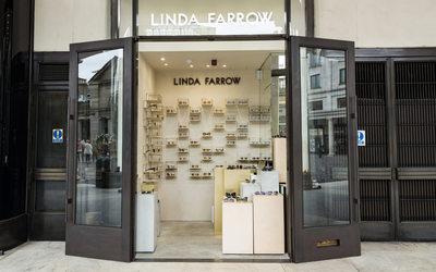 664025ad8e9c Linda Farrow opens second London boutique - News   Retail ( 852035)