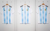 Adidas desvela la nueva camiseta de Argentina para Rusia 2018