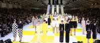 Louis Vuitton checks in for spring, closes Paris shows