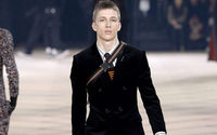 Dior's Kris Van Assche waves flag for tailoring at Paris menswear show