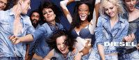 ディーゼル最新広告 「まだらな肌」の注目モデルが水原希子と共演