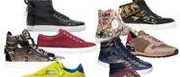 奢侈品牌纷纷推出男式运动鞋 实体百货和网购推波助澜