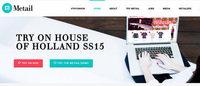 ハウス・オブ・ホランド 2015春夏ショーでバーチャル試着サービス導入