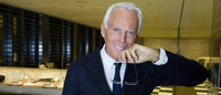 Giorgio Armani vai inaugurar a Exposição Universal de Milão