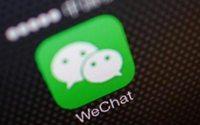 La aplicación china WeChat cuenta con casi todas las marcas de bienes de consumo y moda