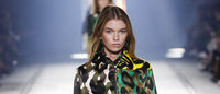 Versace glams up camouflage with animal prints for next spring
