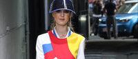 Valentino entre glamour et volupté, Castelbajac géométrique et futuriste