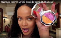Rihanna teases new Fenty Beauty products in Vogue makeup tutorial