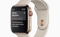 Apple Watch furthers health wearables with new ECG app and irregular heart rhythm notification
