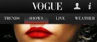 """Nasce la prima app di """"Vogue Italia"""""""
