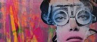 Dain, lo street artist che 'tagga' i volti delle dive