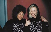 Karlie Kloss unveils sweater with Shantell Martin