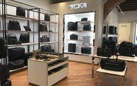 Tumi rifà il look alla boutique di Roma