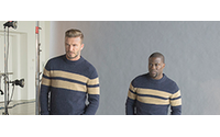 David Beckham and Kevin Hart film new H&M campaign