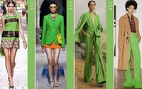Fashion For Breakfast: Catwalks Trends colour from S/S 21
