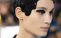 Paris puts a grungy spin on catwalk beauty