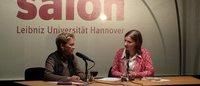 """""""Todschick"""": Gisela Burckhardt beim Literarischen Salon Hannover"""
