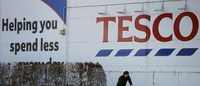 Tesco sales decline slows