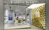 Giuseppe Zanotti inaugura a Shanghai con un nuovo store concept