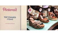 Nordstrom promove produtos com base no Pinterest
