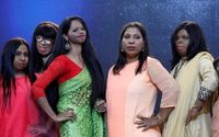 Indian acid attack survivors sparkle at fashion show to spotlight equality