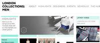 2014-15年秋冬ロンドンコレクション:メン開幕