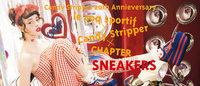 キャンディストリッパーがスポーツブランドと初コラボ、8cmのハイソールスニーカー発売
