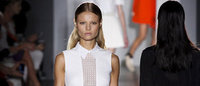 Victoria Beckham stays sumptuous at NY fashion week