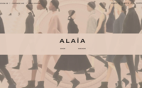 Alaïa launches online store