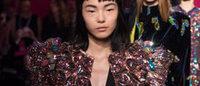 Haute Couture : de la fantaisie chez Schiap', des fleurs chez Valli
