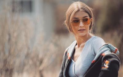 34e01aee3 Gigi Hadid e Vogue Eyewear criam coleção cápsula de óculos de sol -  Notícias : Coleção (#837661)