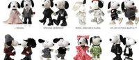 Snoopy et Belle entièrement relookés pour la fashion week de Paris