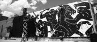 暴力的な世界を描くクレオン・ピーターソンの日本初個展 渋谷ディーゼルで開催