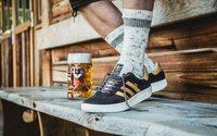 Adidas imagine des baskets anti-bière et anti-vomi