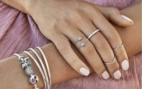 Shares in jeweller Pandora jump on takeover report