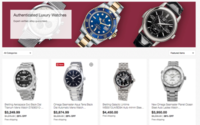 Ebay expands authentication program to watches
