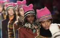 Missoni lets political 'Pussyhats' rule Milan runway
