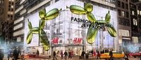 Jeff Koons colabora com a H&M