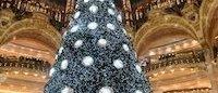 Galeries Lafayette: un Noël grandiose à Haussmann