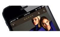 Gucci lance son portail dédié aux mobiles