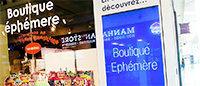 Le pop-up store plébiscité : 83 % des consommateurs veulent de l'inattendu