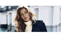 Gisele Bündchen está na campanha de inverno da H&M