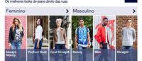 Gap traz novo aplicativo que reúne looks com jeans
