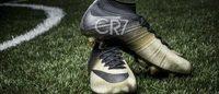 Nike cria chuteira de ouro e diamantes para Cristiano Ronaldo