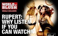 Blush nimmt Murdoch auf die Schippe