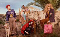 Gucci's latest ad campaign: Rollerblading in the ancient world