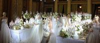 Enzo Miccio debutta in passerella con i suoi abiti da sposa