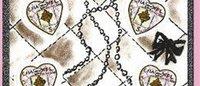 爱马仕设计情人节心形邮票