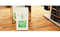 Uniqlo. Первые результаты recycling