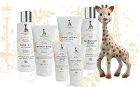 Sophie La Girafe Cosmetics s'installe au Bon Marché